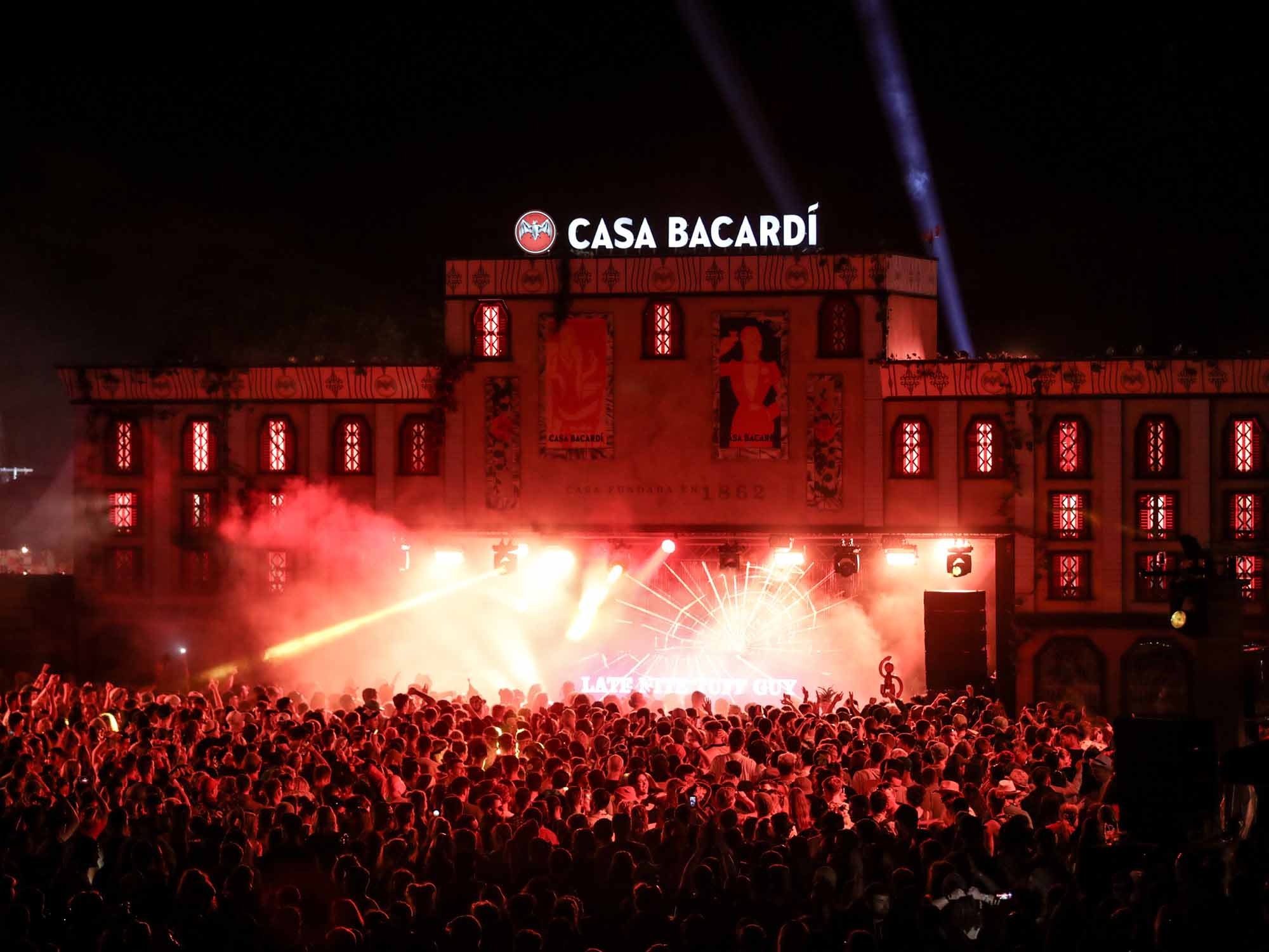 Bacardi festival and events agency UK and Ireland