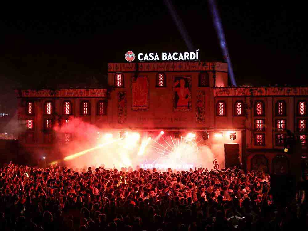 Bacardi Event Management Agency