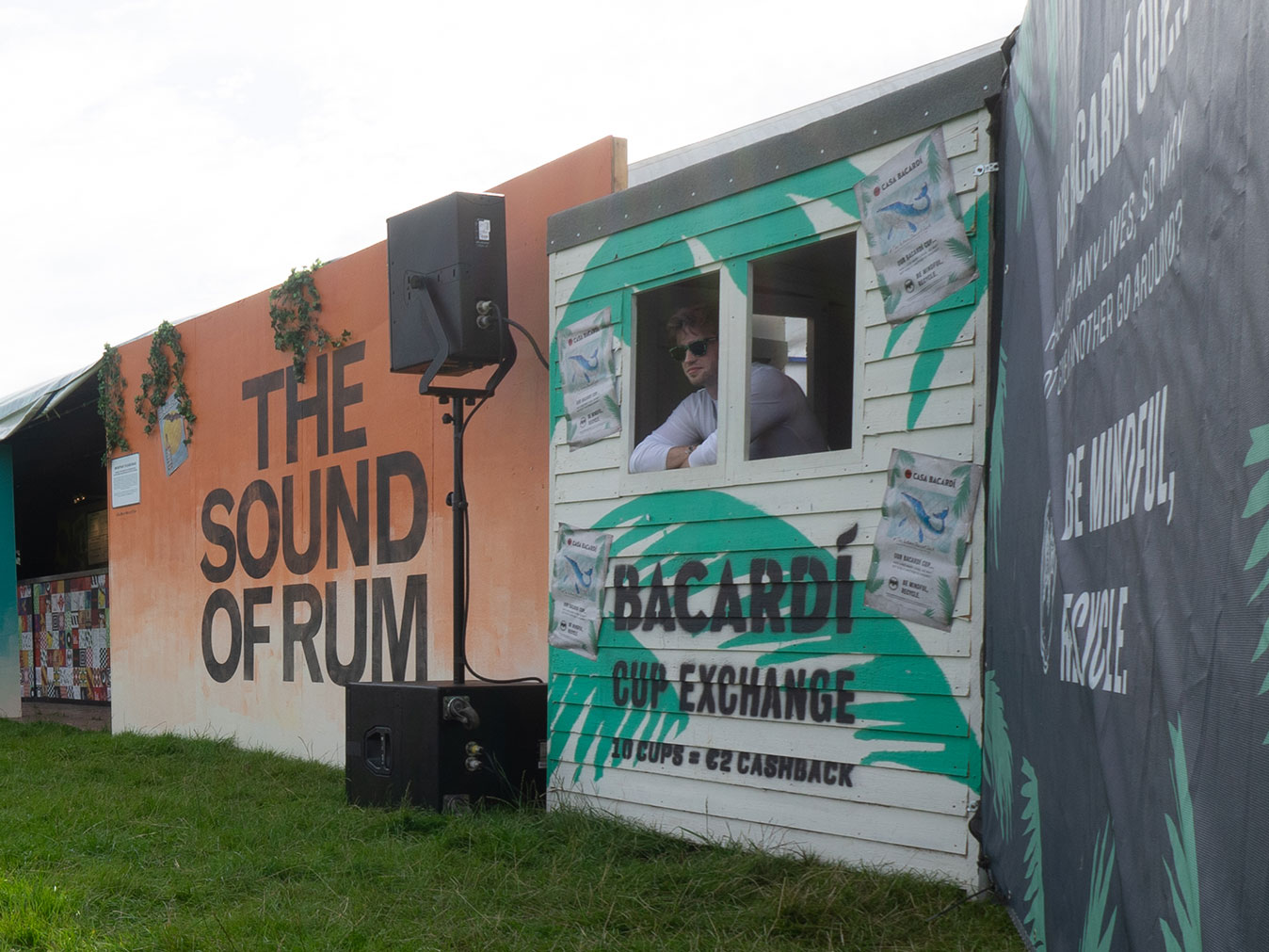 Casa Barcardi experiential events plastic cup recycling at festivals