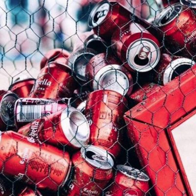 Estrella Damm Festival Experiential Event Recycling
