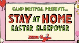 Camp Bestival Virtual Event Poster