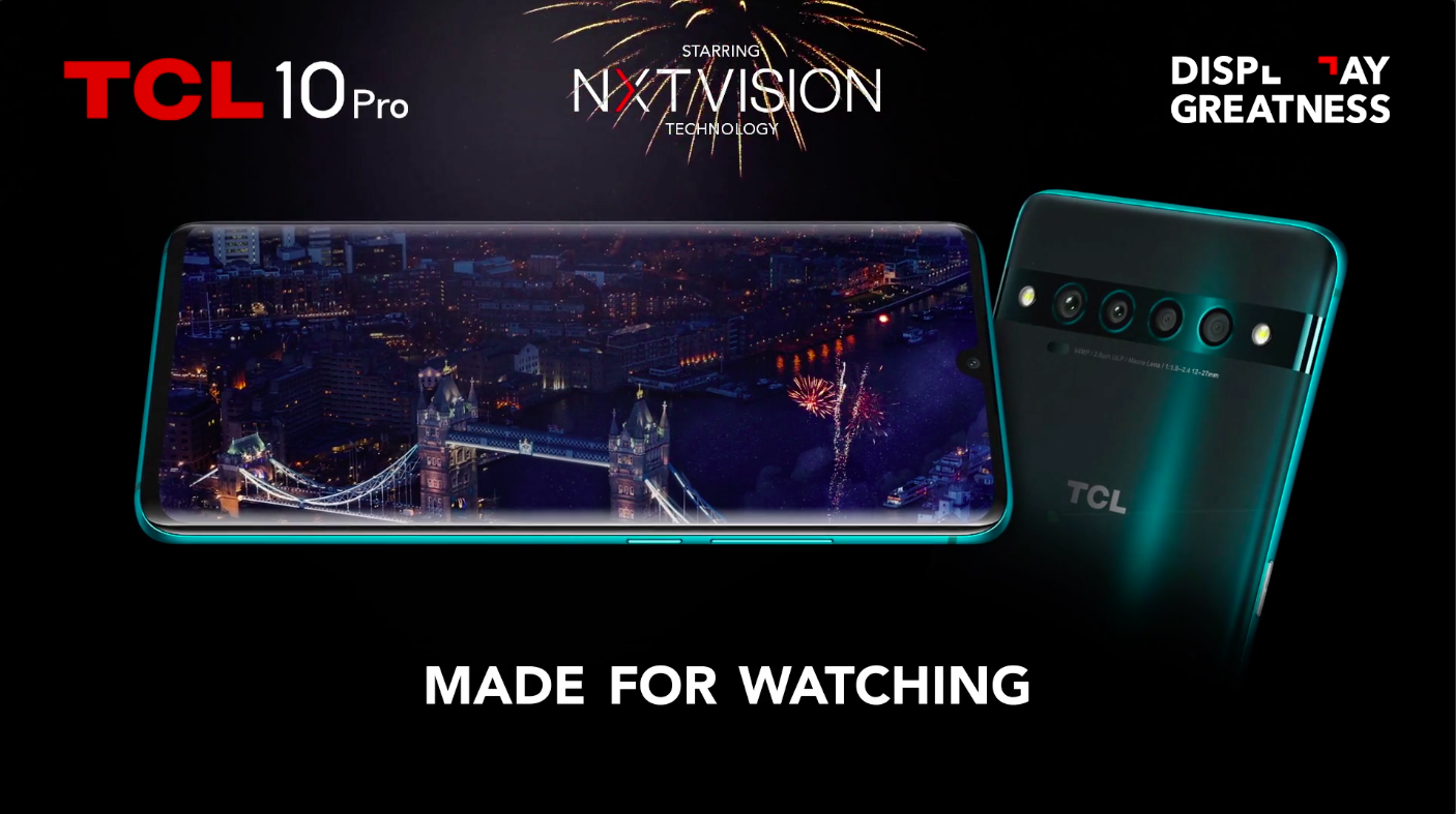 TCL Launched their Made for Watching Campaign in June