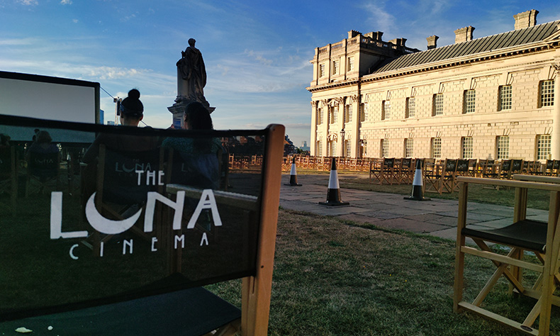 Luna Cinema Event in Greenwich London   TCL Partnership with The Luna Cinema   Image taken on TCL 10 Pro