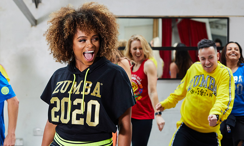 ZUMBA Activation | Fleur East leads Zumba Class | Partnership organised by ALTER Agency